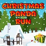 Игра Рождественская Бегущая Панда